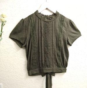 Self Esteem Boho Style Shirt Size XS
